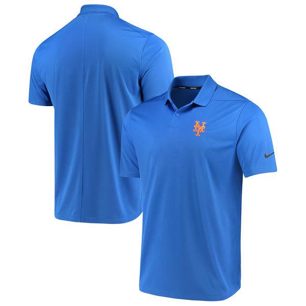 お取り寄せ MLB メッツ ソリッド ヴィクトリー パフォーマンス ポロシャツ ナイキ/Nike ロイヤル