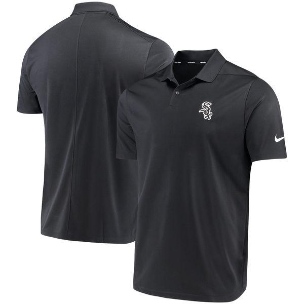 お取り寄せ MLB ホワイトソックス ソリッド ヴィクトリー パフォーマンス ポロシャツ ナイキ/Nike ブラック