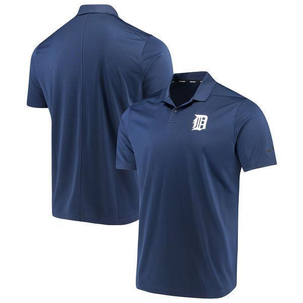 MLB タイガース ソリッド ヴィクトリー パフォーマンス ポロシャツ ナイキ/Nike ネイビー