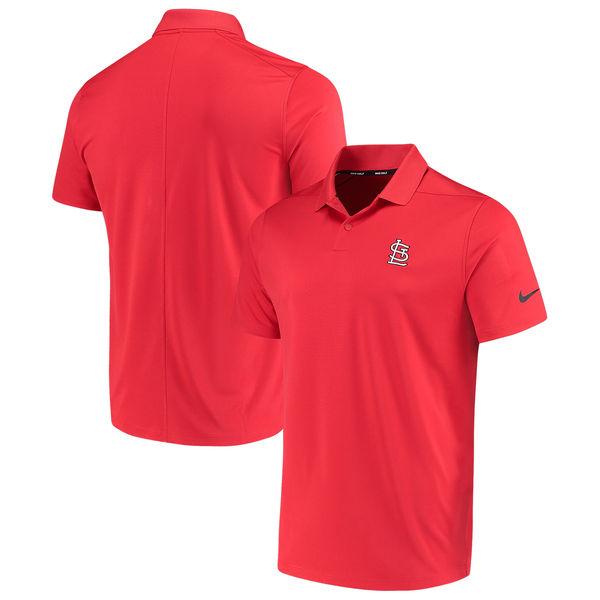 お取り寄せ MLB カージナルス ソリッド ヴィクトリー パフォーマンス ポロシャツ ナイキ/Nike レッド