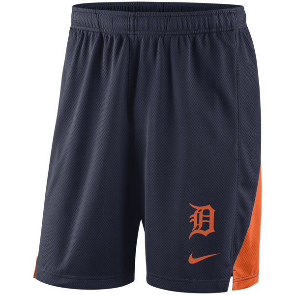 お取り寄せ MLB タイガース フランチャイズ パフォーマンス ショーツ/ショートパンツ ナイキ/Nike ネイビー