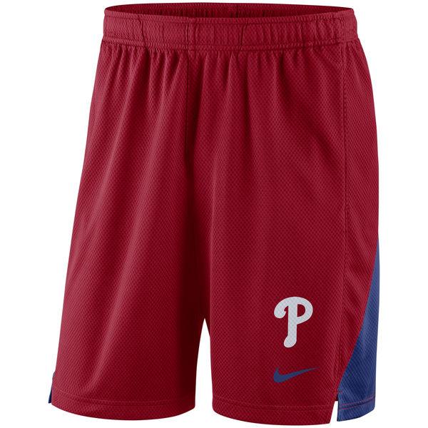 お取り寄せ MLB フィリーズ フランチャイズ パフォーマンス ショーツ/ショートパンツ ナイキ/Nike レッド