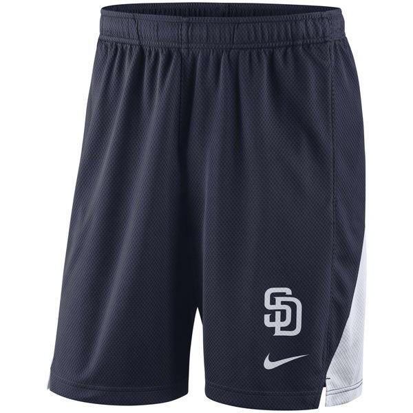 お取り寄せ MLB パドレス フランチャイズ パフォーマンス ショーツ/ショートパンツ ナイキ/Nike ネイビー