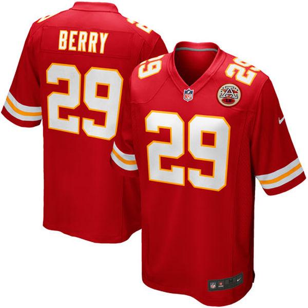 お取り寄せ NFL チーフス エリック・ベリー ゲーム ユニフォーム/ユニホーム レプリカ ナイキ/Nike レッド
