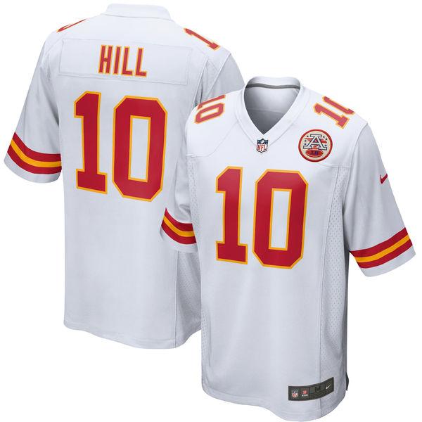 お取り寄せ NFL チーフス タイリーク・ヒル ゲーム ユニフォーム/ユニホーム レプリカ ナイキ/Nike ホワイト