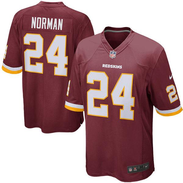 お取り寄せ NFL レッドスキンズ ジョシュ・ノーマン ゲーム ユニフォーム/ユニホーム レプリカ ナイキ/Nike バーガンディ