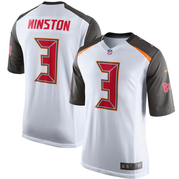 NFL バッカニアーズ ジェームイス・ウィンストン ゲーム ユニフォーム/ユニホーム レプリカ ナイキ/Nike ホワイト