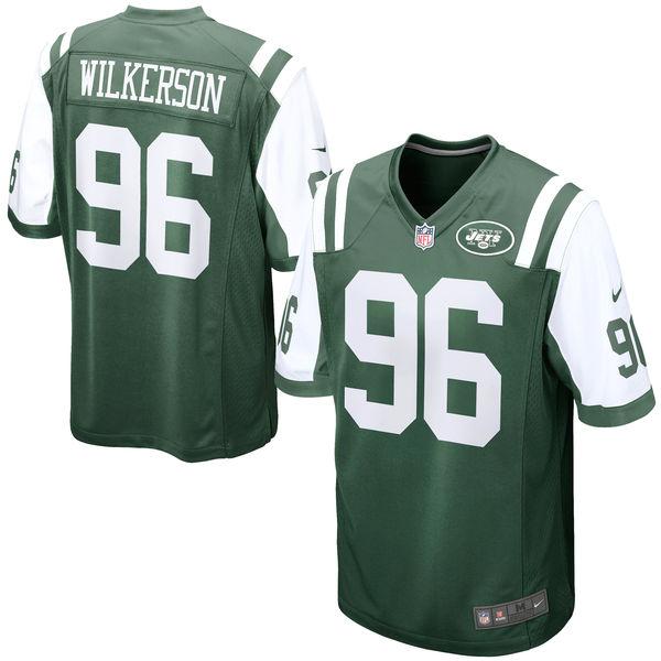 お取り寄せ NFL ジェッツ ムハンマド・ウィルカーソン ゲーム ユニフォーム/ユニホーム レプリカ ナイキ/Nike グリーン