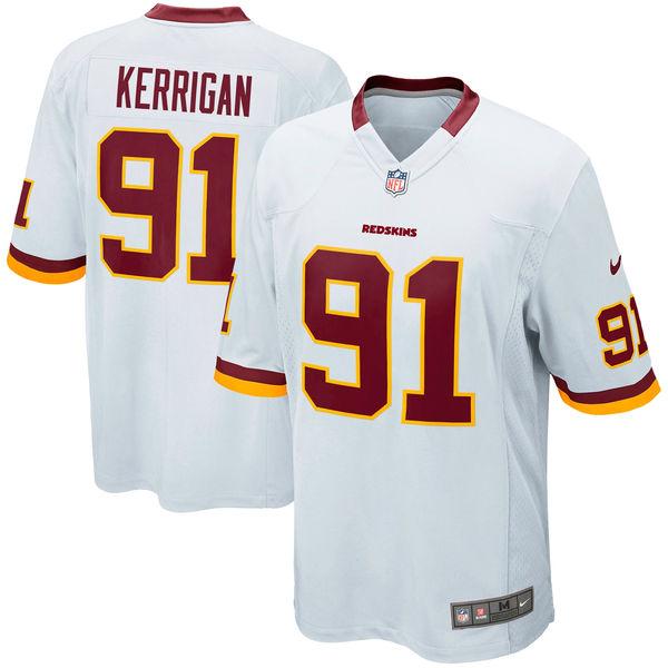 お取り寄せ NFL レッドスキンズ ライアン・ケリガン ゲーム ユニフォーム/ユニホーム レプリカ ナイキ/Nike ホワイト