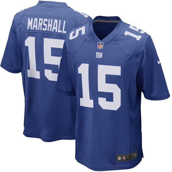 お取り寄せ NFL ジャイアンツ ブランドン・マーシャル ゲーム ユニフォーム/ユニホーム レプリカ ナイキ/Nike ロイヤル