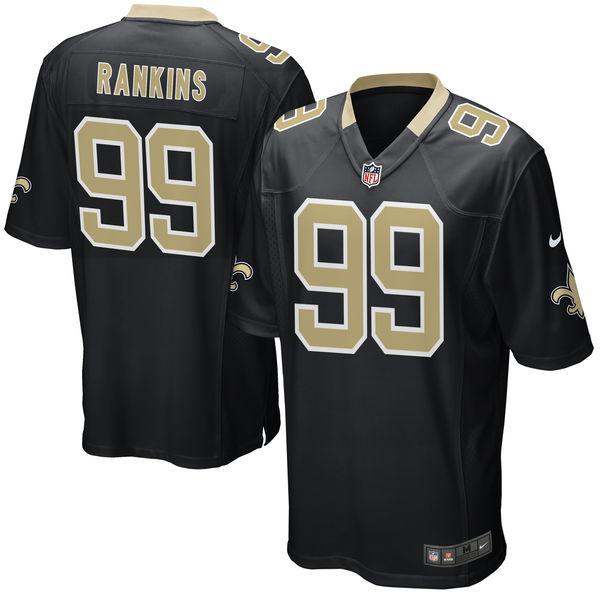 NFL セインツ シェルドン・ランキンズ ゲーム ユニフォーム/ユニホーム レプリカ ナイキ/Nike ブラック