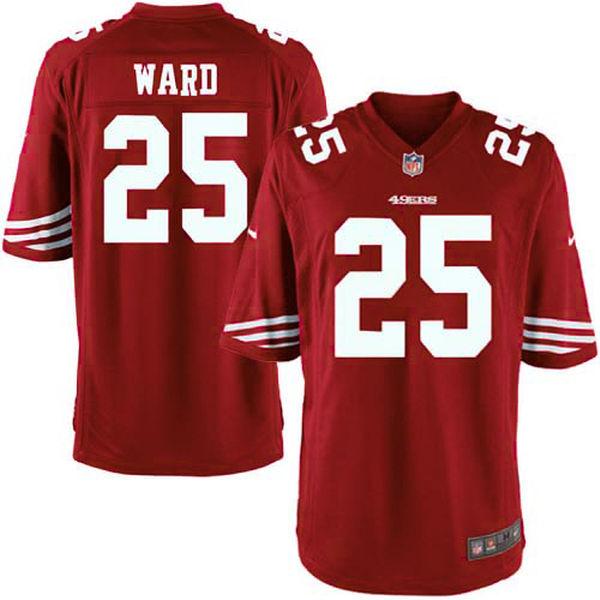 お取り寄せ NFL 49ers ジミー・ワード ゲーム ユニフォーム/ユニホーム レプリカ ナイキ/Nike スカーレット