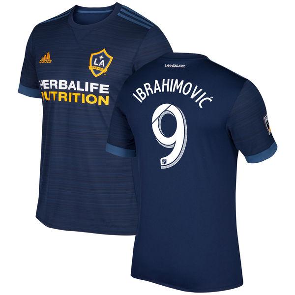 お取り寄せ MLS LA ギャラクシー ズラタン・イブラヒモビッチ レプリカ ユニフォーム/ユニホーム セカンダリー アディダス/Adidas