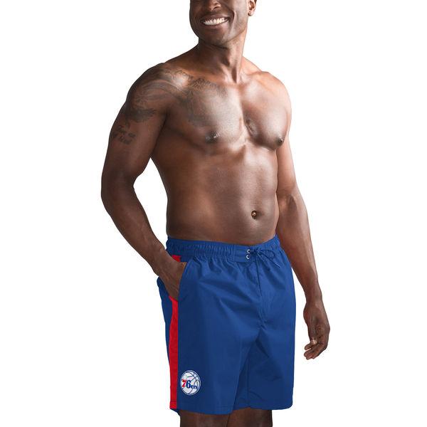 お取り寄せ NBA 76ers 海水パンツ / スイムパンツ G-III