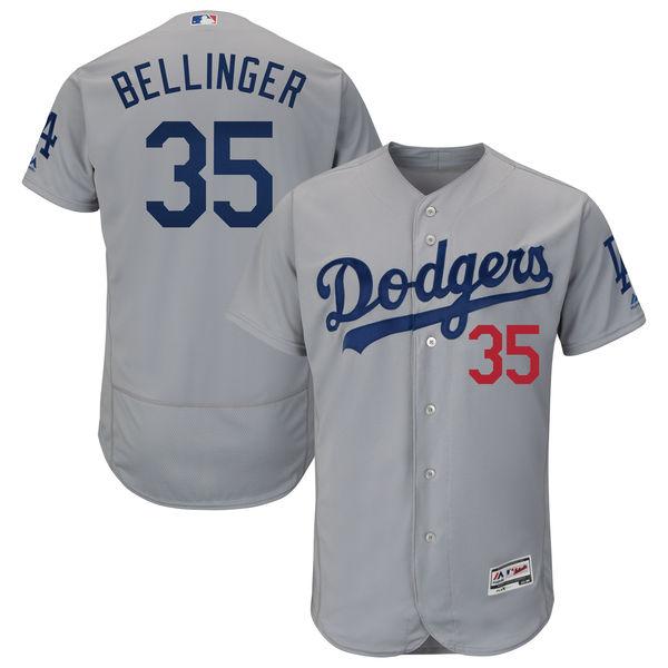 お取り寄せ MLB ドジャース コディ・ベリンジャー ユニフォーム/ユニホーム 選手着用モデル マジェスティック/Majestic ロード