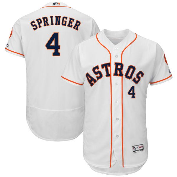 お取り寄せ MLB アストロズ ジョージ・スプリンガー ユニフォーム/ユニホーム 選手着用モデル マジェスティック/Majestic ホーム