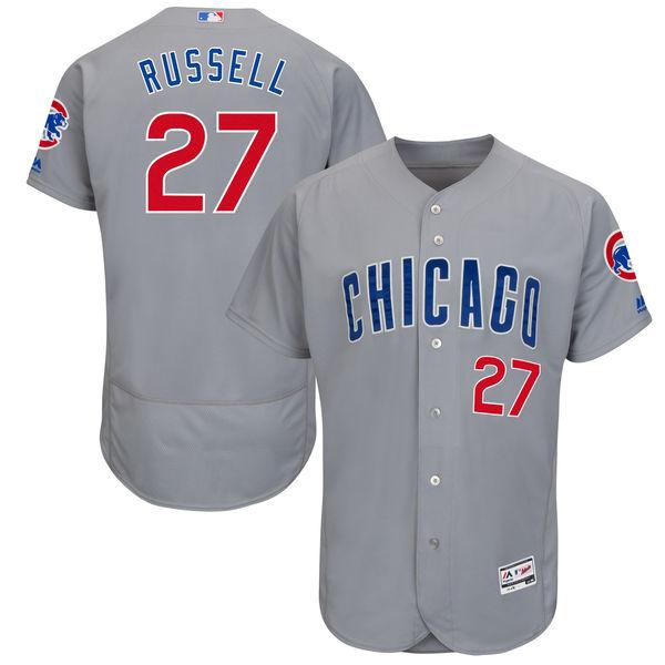 お取り寄せ MLB カブス アディソン・ラッセル ユニフォーム/ユニホーム 選手着用モデル マジェスティック/Majestic ロード