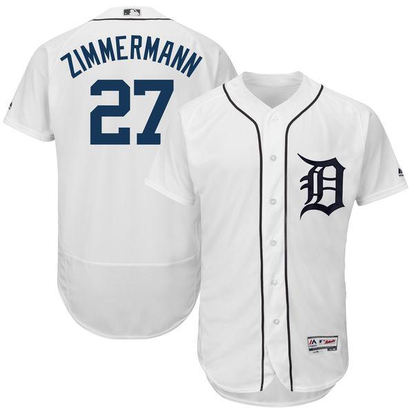 お取り寄せ MLB タイガース ジョーダン・ジマーマン ユニフォーム/ユニホーム 選手着用モデル マジェスティック/Majestic ホーム