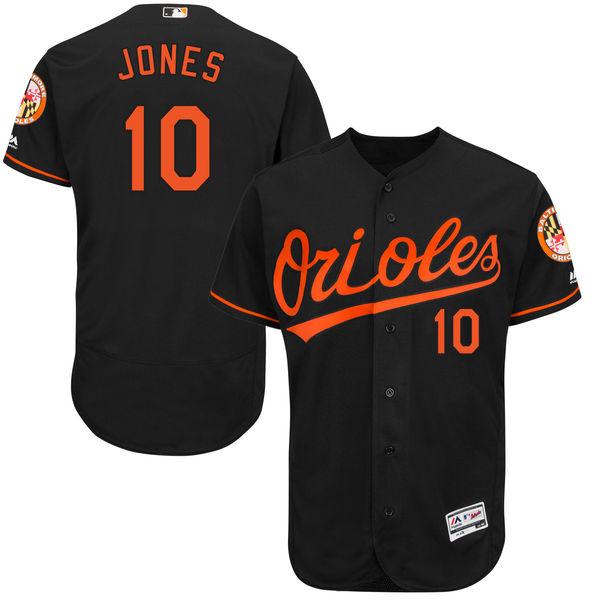 お取り寄せ MLB オリオールズ アダム・ジョーンズ ユニフォーム/ユニホーム 選手着用モデル マジェスティック/Majestic オルタネート