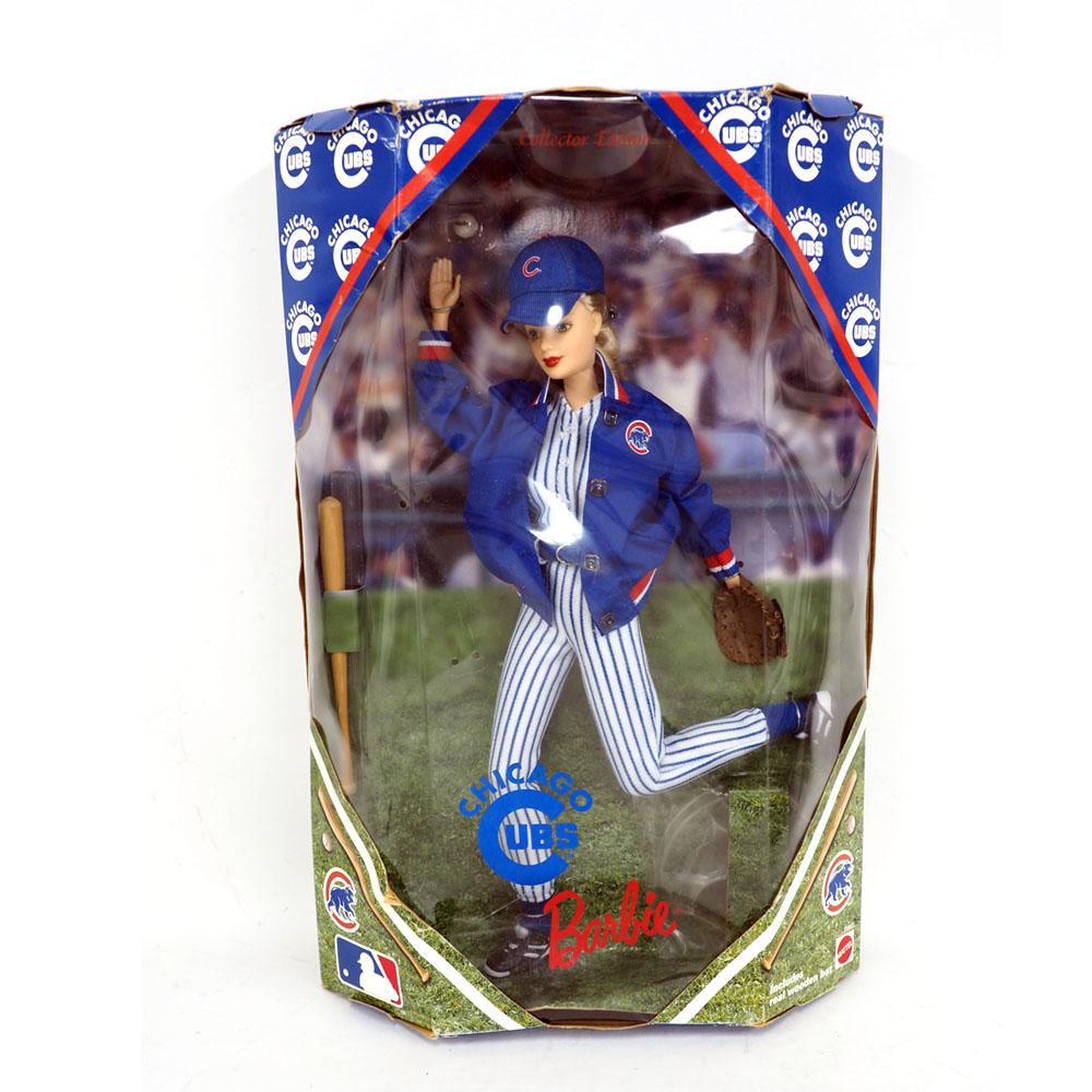 MLB カブス バービードール 1999 Barbie Collectibles レアアイテム