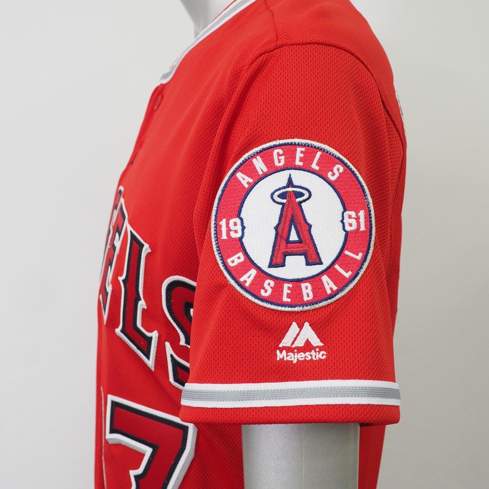 38820a995 ... Reservation MLB Angels Shohei Otani flextime base authentic player  uniform   jersey majestic  Majestic alternate ...