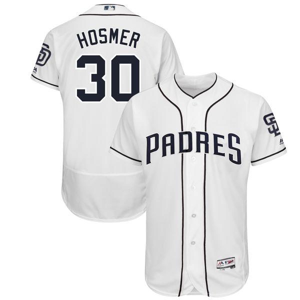 お取り寄せ MLB パドレス エリック・ホズマー ユニフォーム/ユニホーム 選手着用モデル マジェスティック/Majestic ホーム