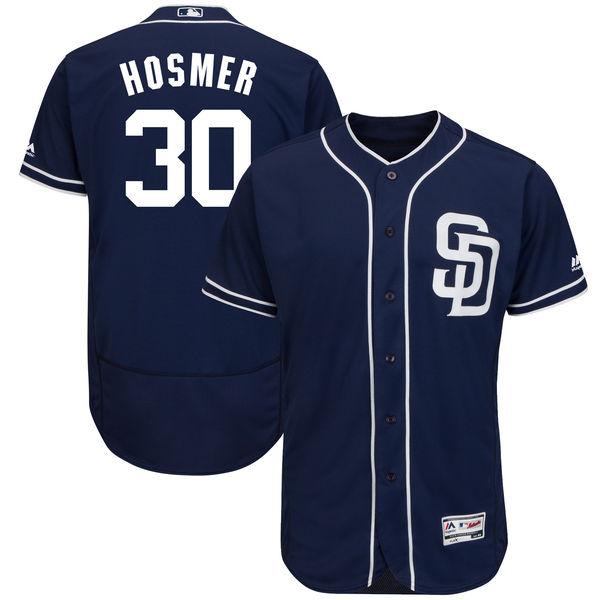 お取り寄せ MLB パドレス エリック・ホズマー ユニフォーム/ユニホーム 選手着用モデル マジェスティック/Majestic オルタネート