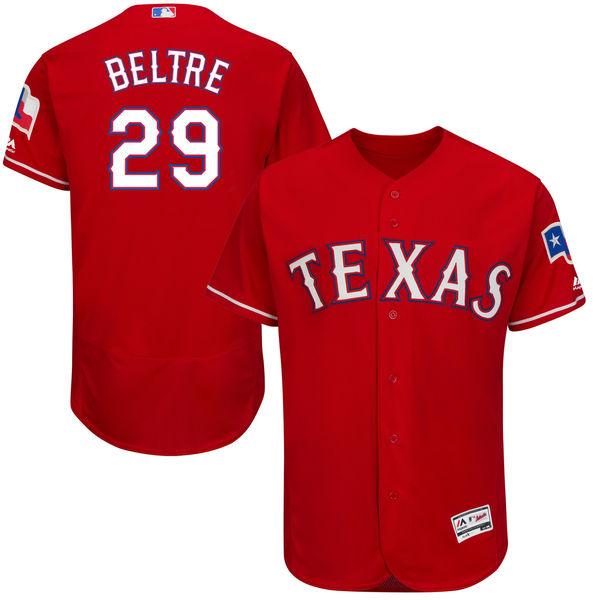 お取り寄せ MLB レンジャーズ エイドリアン・ベルトレ ユニフォーム/ユニホーム 選手着用モデル マジェスティック/Majestic オルタネート