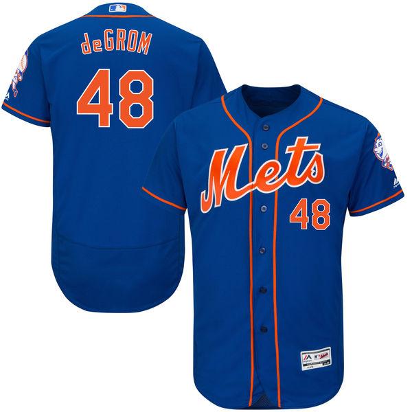 お取り寄せ MLB メッツ ジェイコブ・デグロム ユニフォーム/ユニホーム 選手着用モデル マジェスティック/Majestic オルタネート
