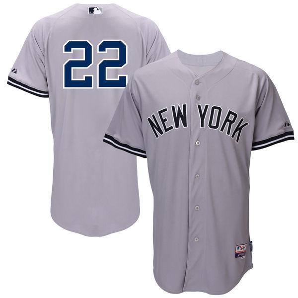 お取り寄せ MLB ヤンキース ジャコビー・エルズベリー ユニフォーム/ユニホーム 選手着用モデル マジェスティック/Majestic ロード