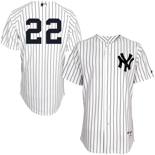 お取り寄せ MLB ヤンキース ジャコビー・エルズベリー ユニフォーム/ユニホーム 選手着用モデル マジェスティック/Majestic ホーム