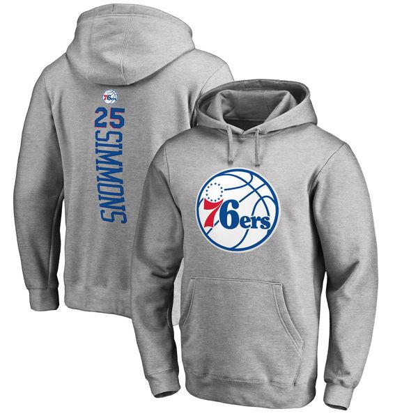 お取り寄せ NBA 76ers ベン・シモンズ プルオーバー パーカー/フーディー ベッカー アッシュ