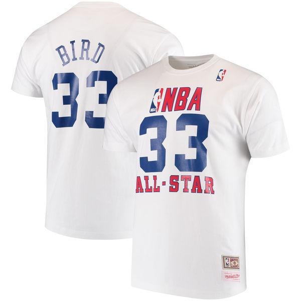NBA セルティックス ラリー・バード 1990 オールスター ネーム&ナンバー Tシャツ ミッチェル&ネス/Mitchell & Ness