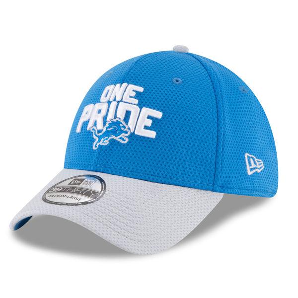 NFL ライオンズ 39THIRTY フレックス キャップ/帽子 2018 ドラフト スポットライト ニューエラ/New Era ブルー