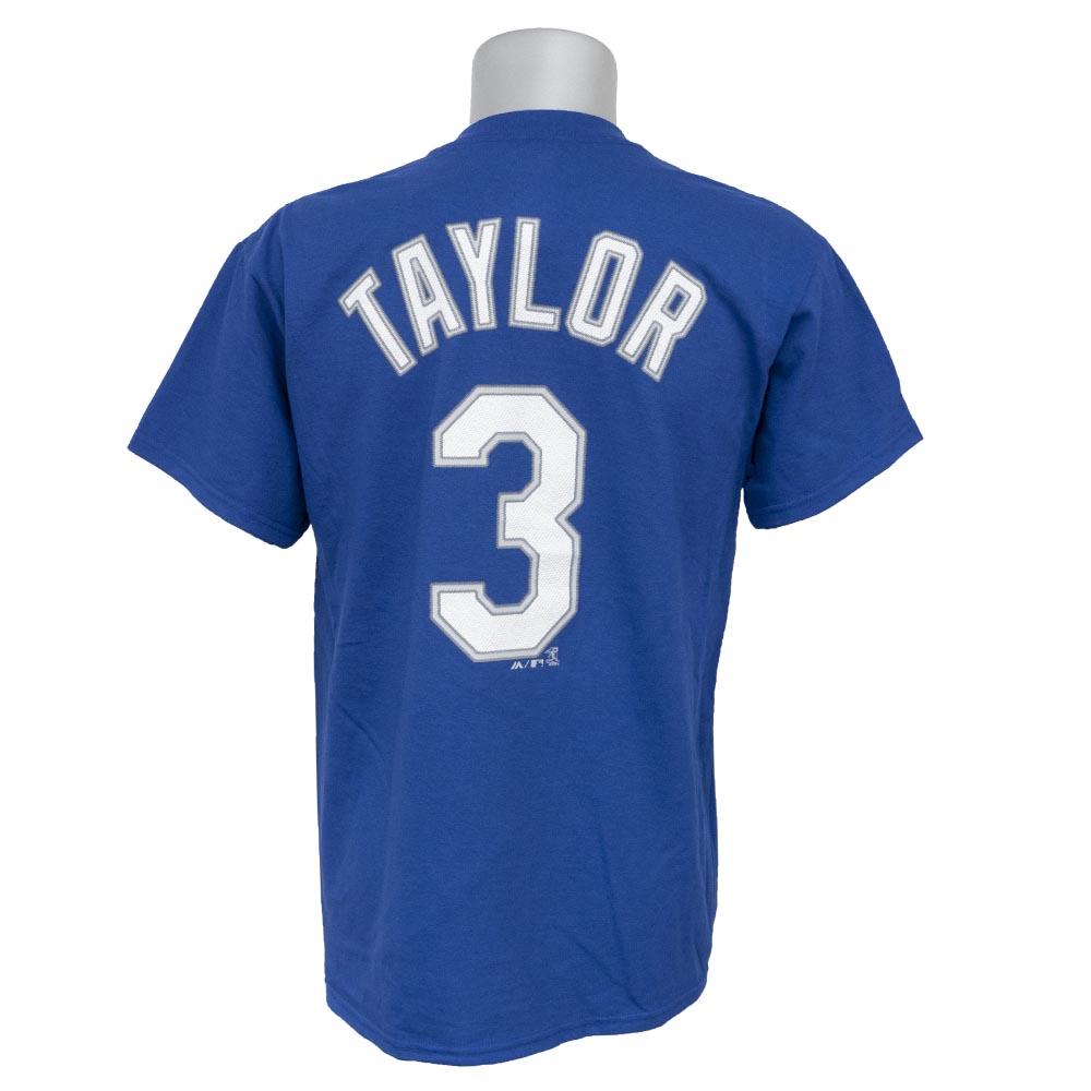 MLB ドジャース クリス・テイラー プレイヤー Tシャツ マジェスティック/Majestic ブルー【1910価格変更】【1112】