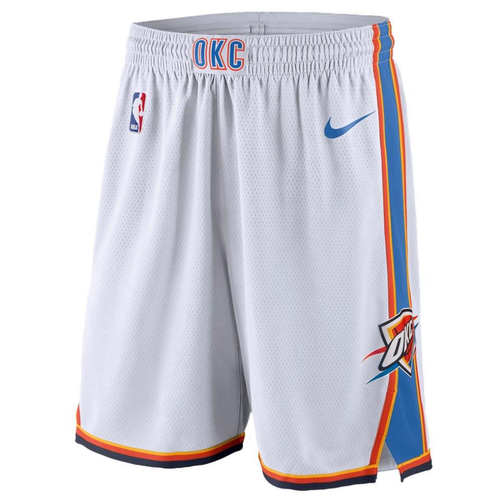 NBA サンダー スウィングマン ショーツ ナイキ/Nike ホワイト