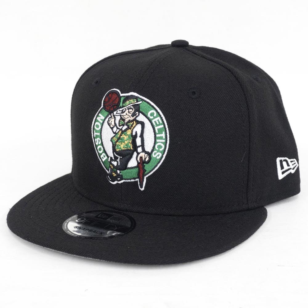 NBA セルティックス 9FIFTY キャップ/帽子 オフィシャル チームカラー アジャスタブル ニューエラ/New Era ブラック【1910価格変更】【191028変更】