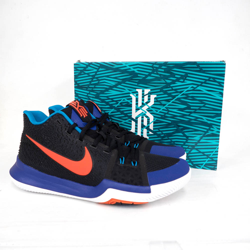 4a2451953674 Nike chi Lee  NIKE KYRIE Kyrie Irving shoes   basketball shoes KYRIE 3 chi  Lee 3 Black Orange Concord 852