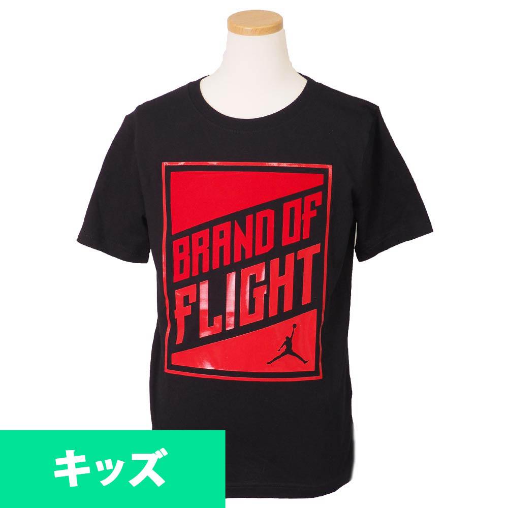 ナイキ ジョーダン/NIKE JORDAN キッズ Tシャツ 半袖 BOF 3 ブラック【1910価格変更】