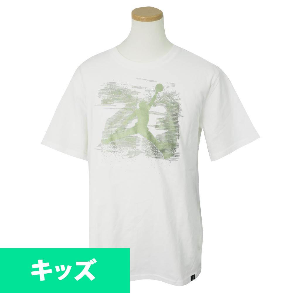 ナイキ ジョーダン/NIKE JORDAN キッズ Tシャツ 半袖 レトロ 13 ホワイト【1910価格変更】