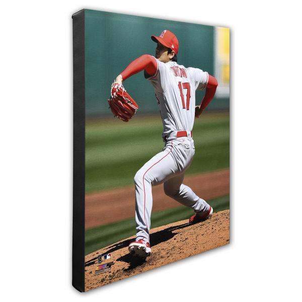 お取り寄せ MLB エンゼルス 大谷翔平 キャンバス/フォトキャンバス パネル オルタネート プレイヤー フォトファイル/Photo File