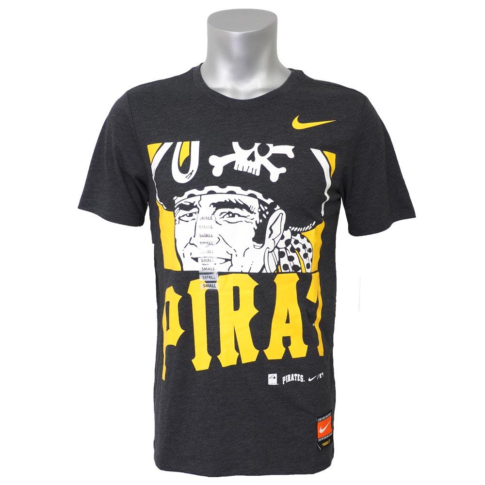 MLB パイレーツ Tシャツ 半袖 CP トライ ロゴ ナイキ/Nike ブラック【1910価格変更】【1112】