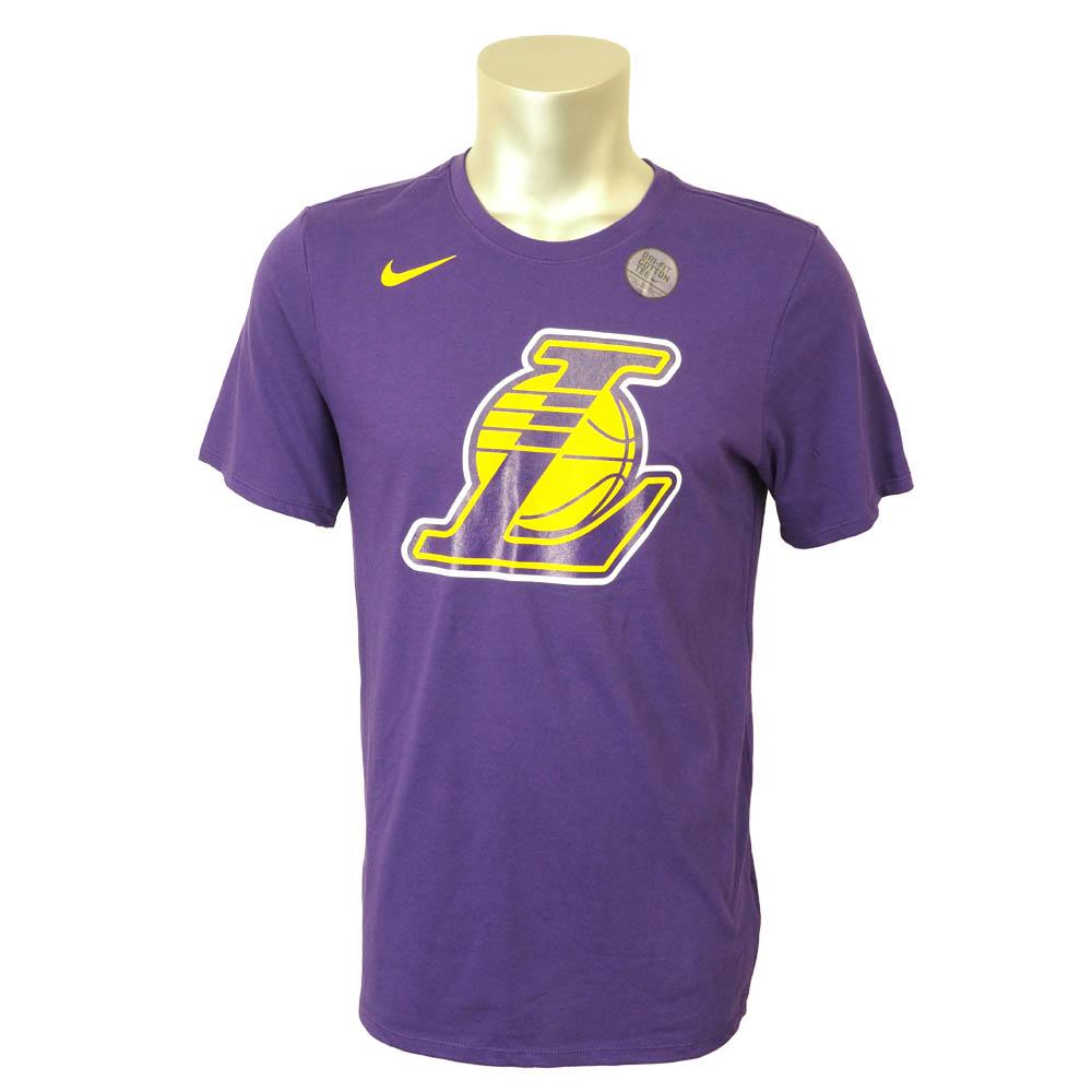 NBA Tシャツ レイカーズ ロゴ DFC ナイキ/Nike パープル 870514-547【1910価格変更】【1911NBAt】