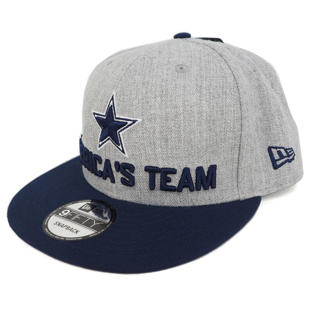 MLB NBA NFL Goods Shop  NFL Cowboys 9FIFTY snapback cap   hat 2018 draft  onstage new gills  New Era navy  924cb3fbf