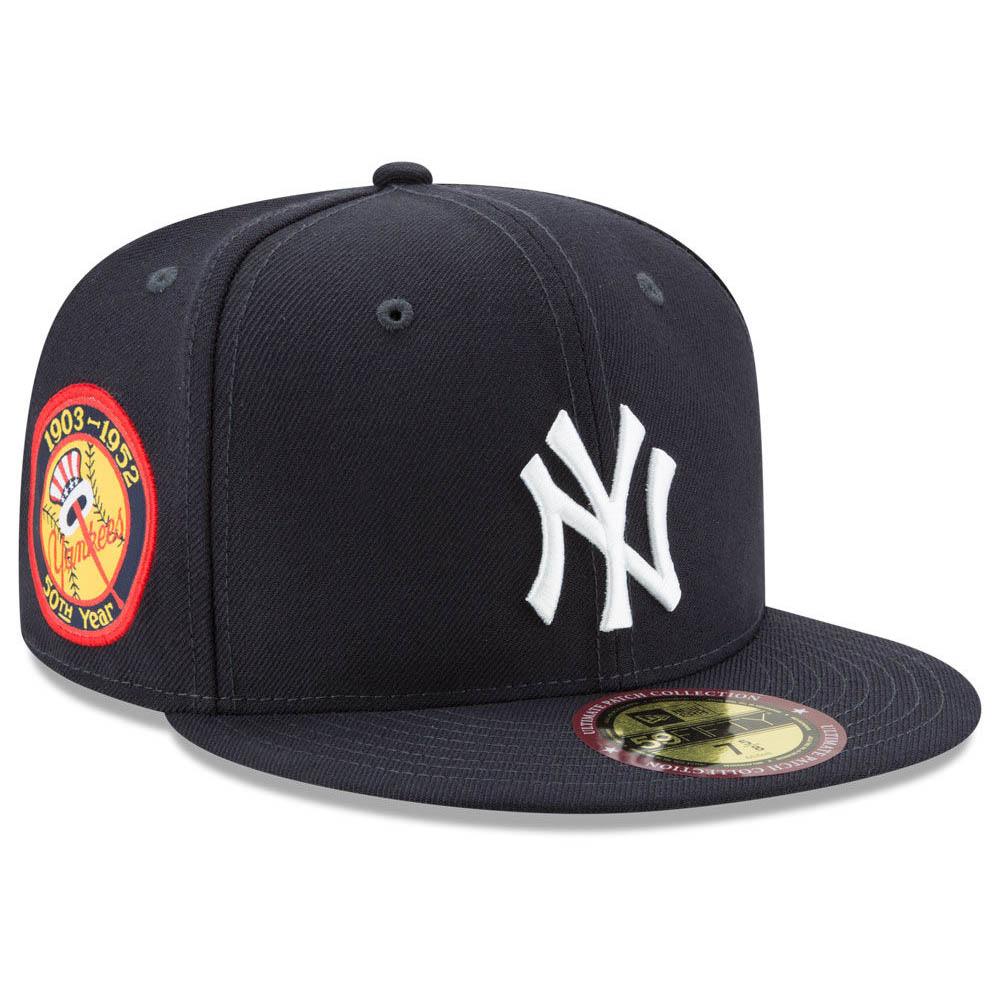 ヤンキース キャップ ニューエラ NEW ERA MLB 50周年記念パッチ ゲーム【1910セール】【191028変更】