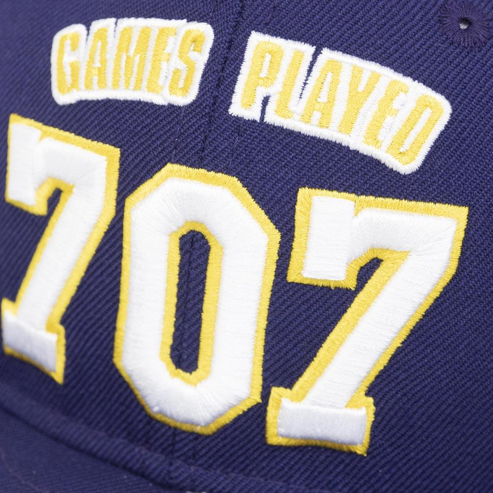 size 40 b03df ed88e NBA Lakers Kobe Bryant retirement commemorative リタイアメントキャップ / hat game  pre-id 707 new gills /New Era purple