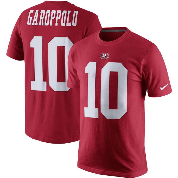 NFL 49ers ジミー・ガロポロ プレイヤー プライド ネーム&ナンバー Tシャツ ナイキ/Nike