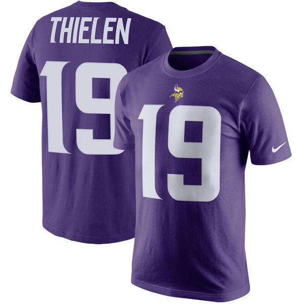 NFL バイキングス アダム・シーレン プレイヤー プライド ネーム&ナンバー Tシャツ ナイキ/Nike