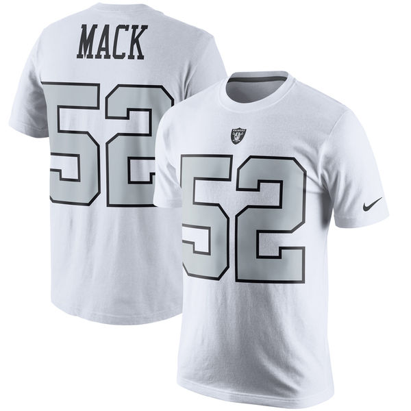 NFL レイダース カリル・マック プレイヤー プライド ネーム&ナンバー Tシャツ ナイキ/Nike
