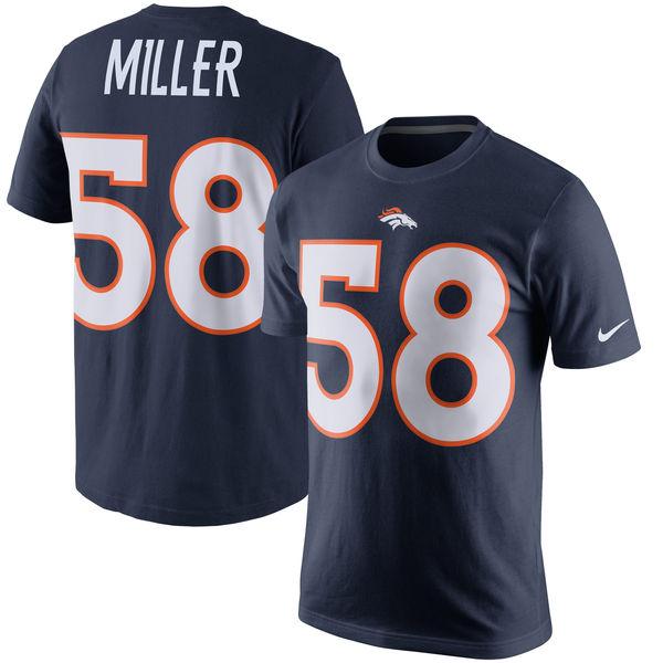 NFL ブロンコス ボン・ミラー プレイヤー プライド ネーム&ナンバー Tシャツ ナイキ/Nike